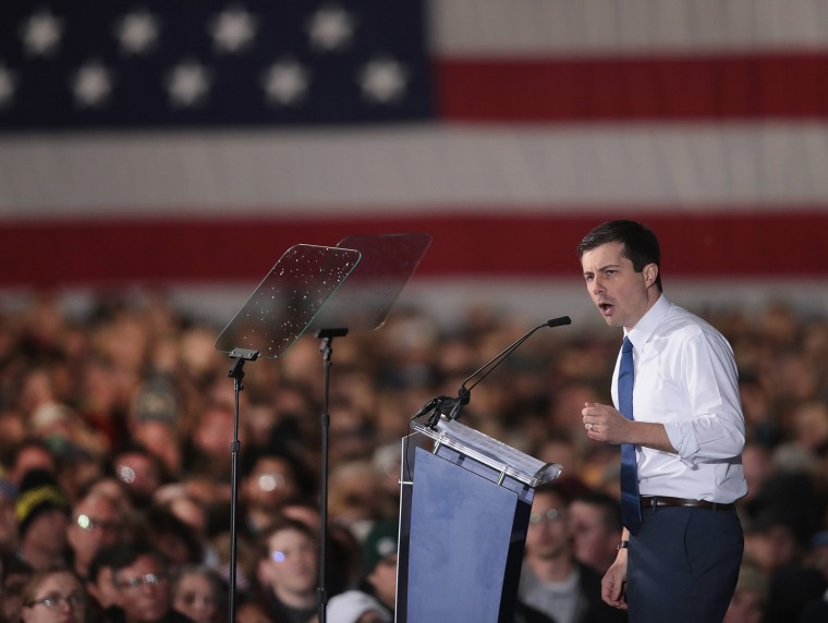Image: South Bend Mayor Pete Buttigieg Officially Announces Run For The Presidency