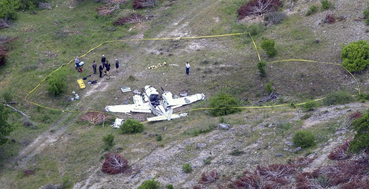 Image result for plane crash in texas