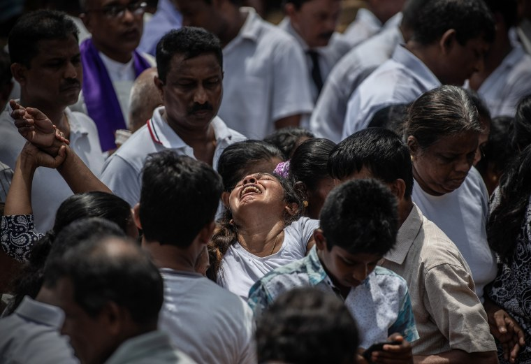 Image: Multiple Explosions Hit Sri Lanka On Easter Sunday