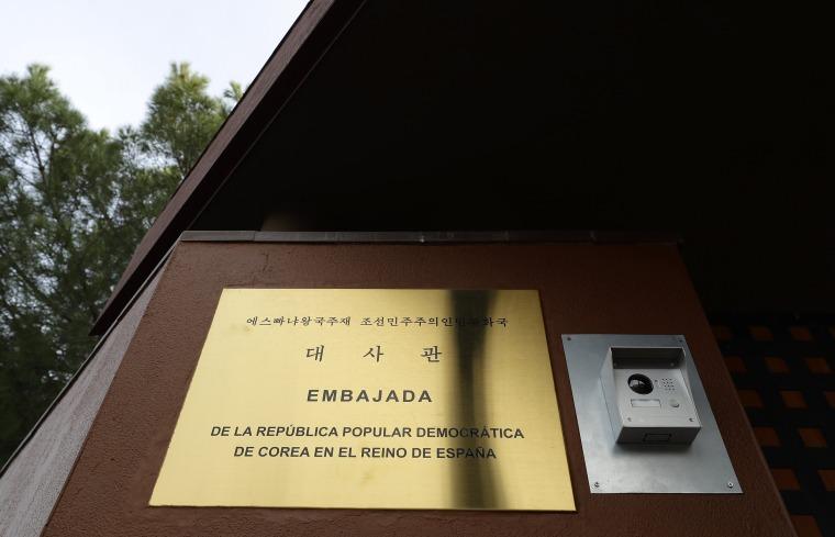 Image: North Korea Embassy