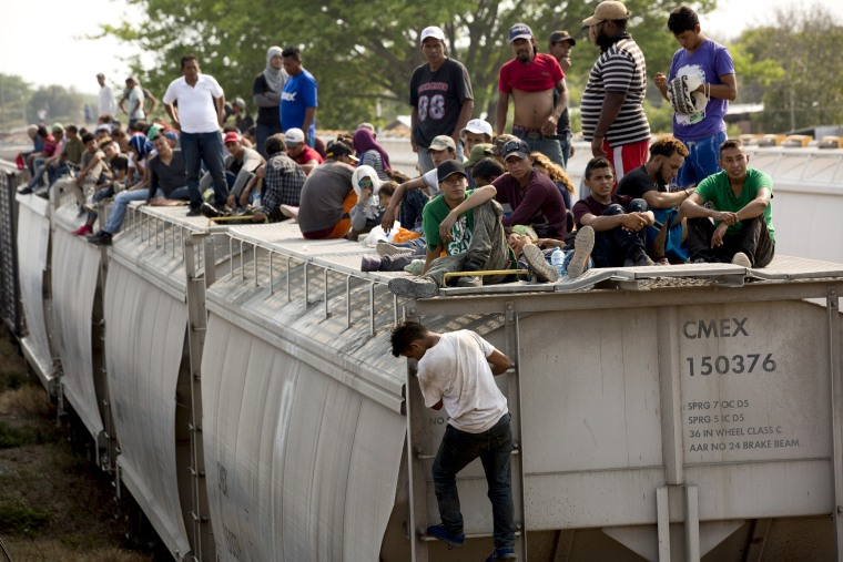 In Mexico Migrants Are Once Again Hopping Onto The Beast