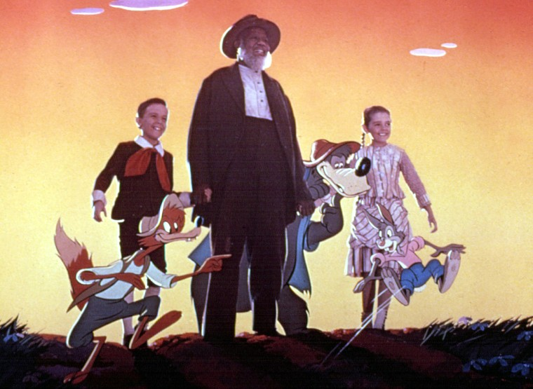 SONG OF THE SOUTH, Brer Fox, Bobby Driscoll, Rex Ingram, Br'er Bear, Luana Patten, Brer Rabbit, 1946