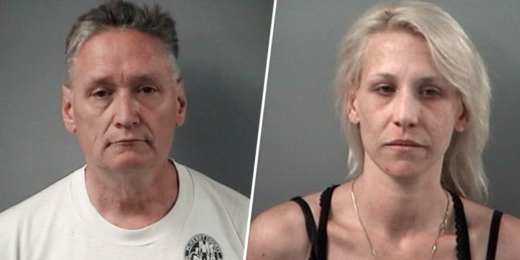 Image: Andrew Freund Sr. and JoAnn Cunningham were arrested on April 24, 2019.