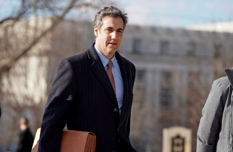 Michael Cohen tries to walk back parts of guilty plea in recorded phone call, report says