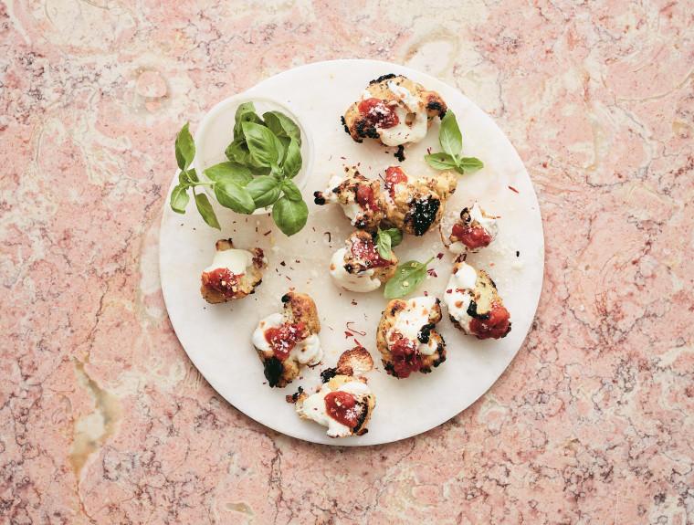 Image: Cauliflower Parmesan Bites