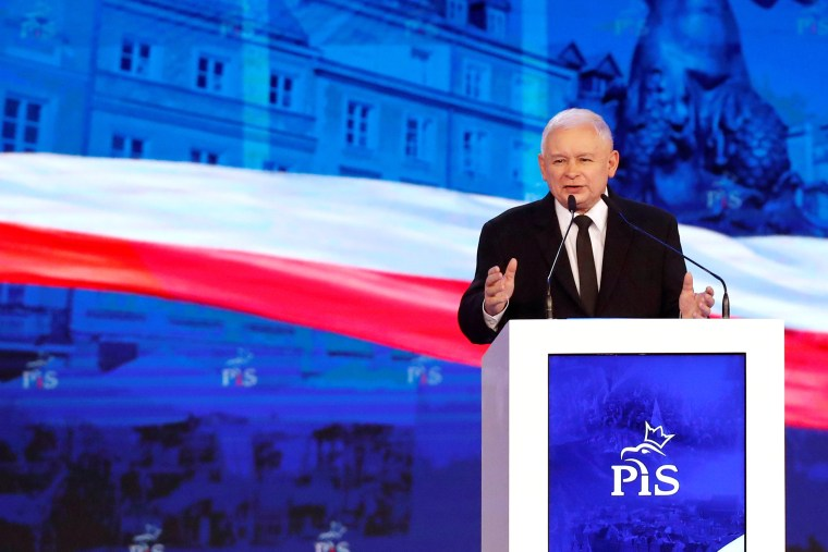 Image: FILE PHOTO: Poland's ruling Law and Justice party convention in Warsaw