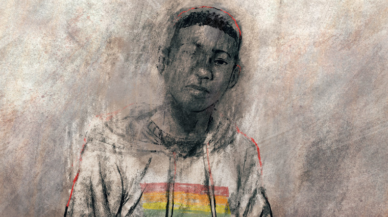 Illustration of Nigel Shelby.