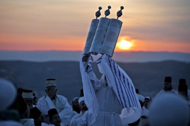 Image: TOPSHOT-PALESTINIAN-ISRAEL-RELIGION-SAMARITANS