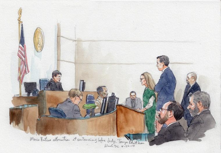 Maria Butina's sentencing before judge Tanya Chutkan
