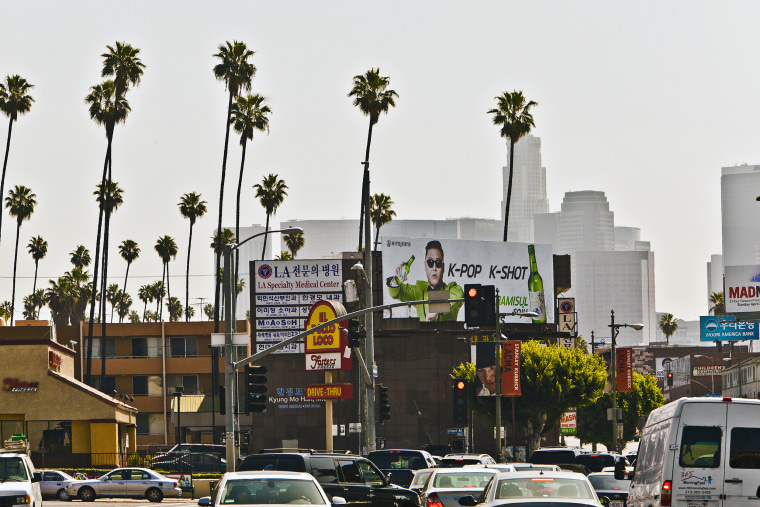 USA - Scenes of Daily Life in Koreatown Los Angeles