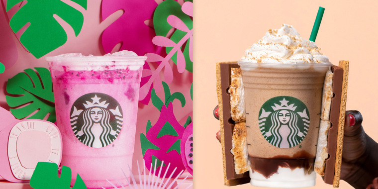 Starbucks new items