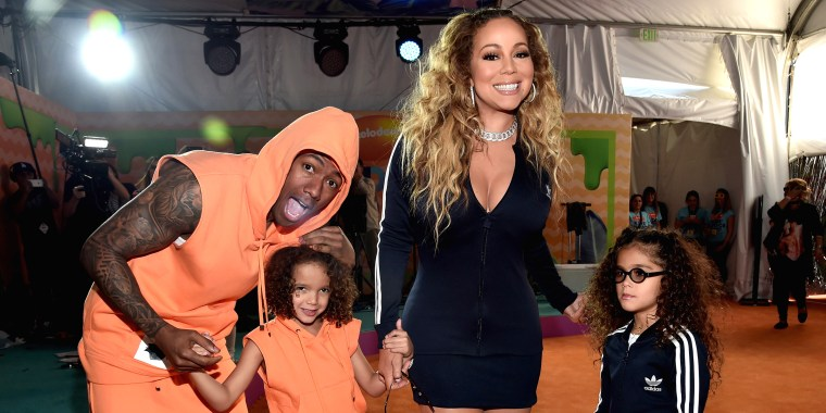 Mariah Carey and her kids