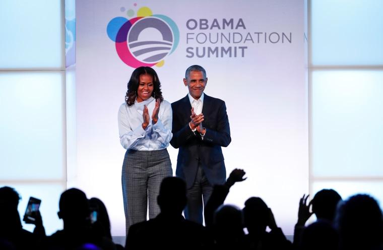 Image: Barack and Michelle Obama