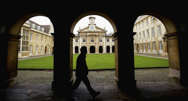 Image: Cambridge University Term Starts As Top Up Fees Debate Looms