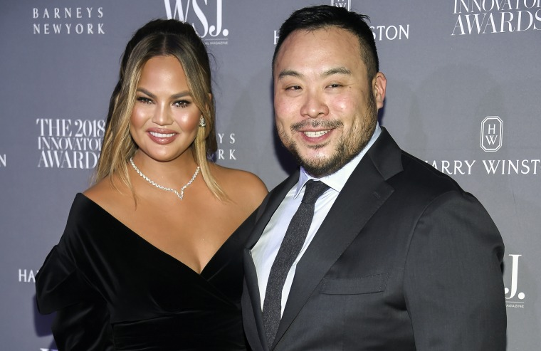 Image: Chrissy Teigen David Chang