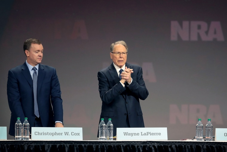Image: Gun Enthusiasts Attend NRA Annual Meeting In Indianapolis