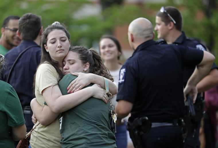 Image: UNC Shooting aftermath