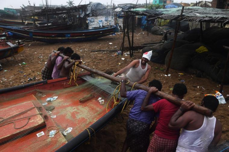 Image: Cyclone Fani
