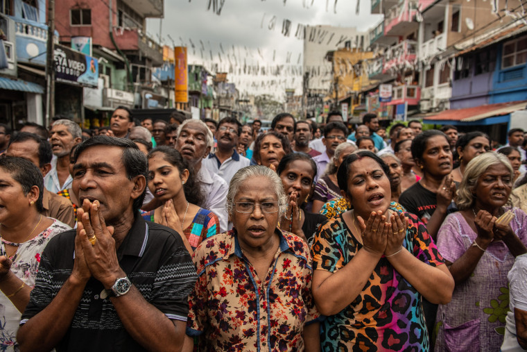 Image: Sri Lanka Mourns Victims of Easter Sunday Bombings