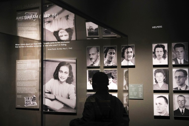 Image: New York City's Museum Of Jewish Heritage Holds Press Preview For New Auschwitz Exhibition