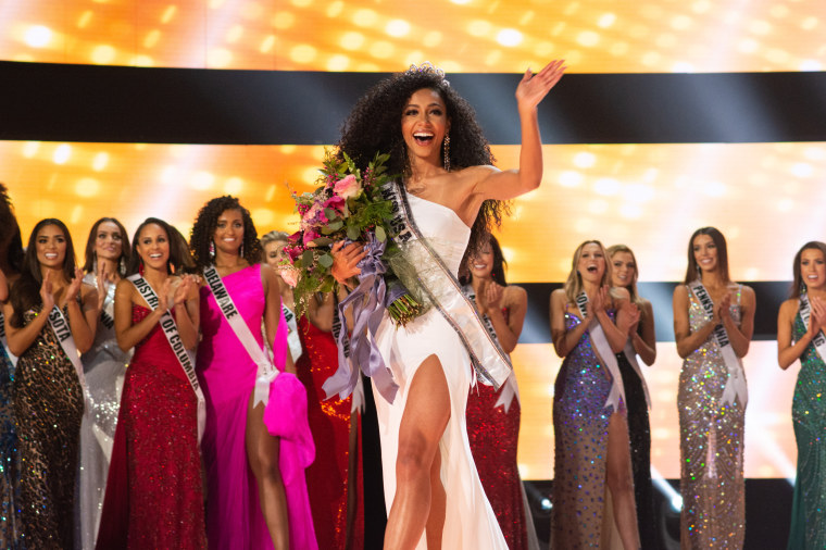 Image result for North Carolina' Cheslie Kryst wins Miss USA Pageant [watch]