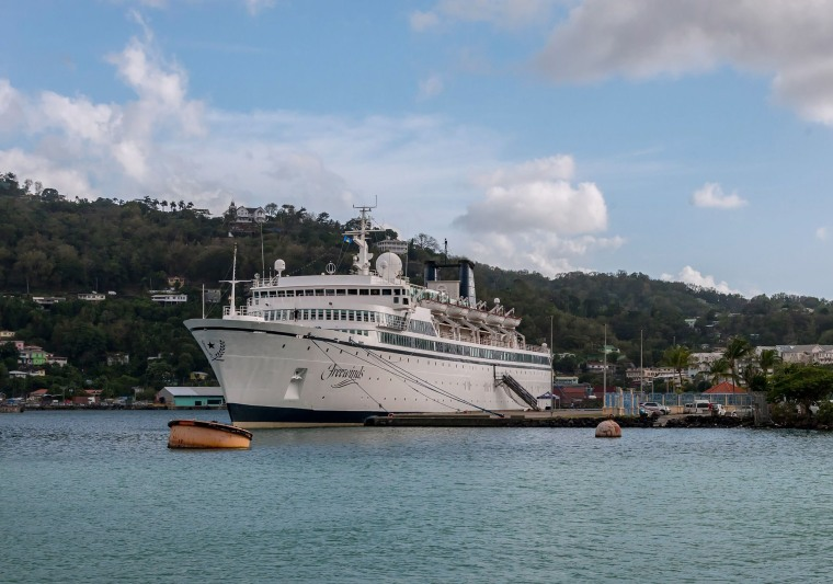 Image: SAINTLUCIA-HEALTH-RELIGION-MEASLES-SCIENTOLOGY