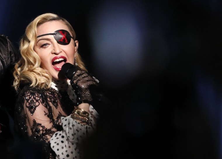 Madonna performs at the Billboard Music Awards in Las Vegas