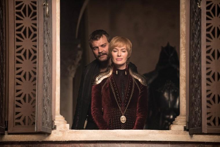 "Pilou Asbaek, Lena Headey in Season 8, episode 4 of ""Game of Thrones."""
