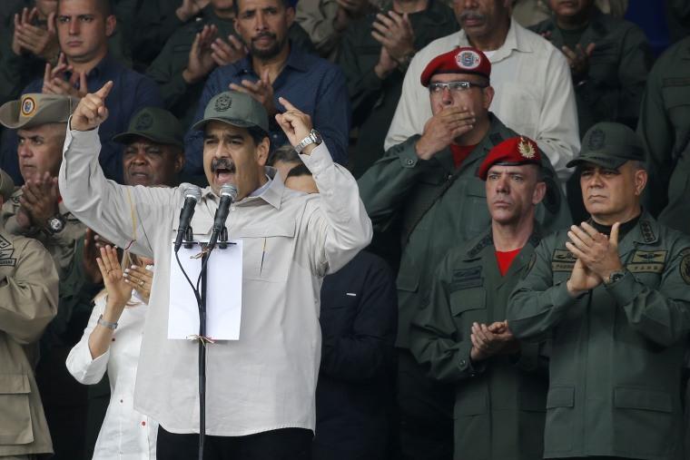Image: Nicolas Maduro,Ivan Rafael Hernandez Dala