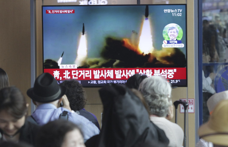 Image: North Korea Missle Launch