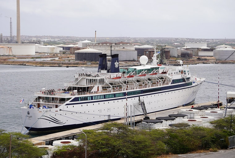 Measles quarantine of Scientology ship started with one infected crew member, doctor says