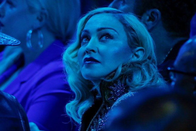 Image:  Madonna attends the 30th annual GLAAD awards ceremony in New York City, New York