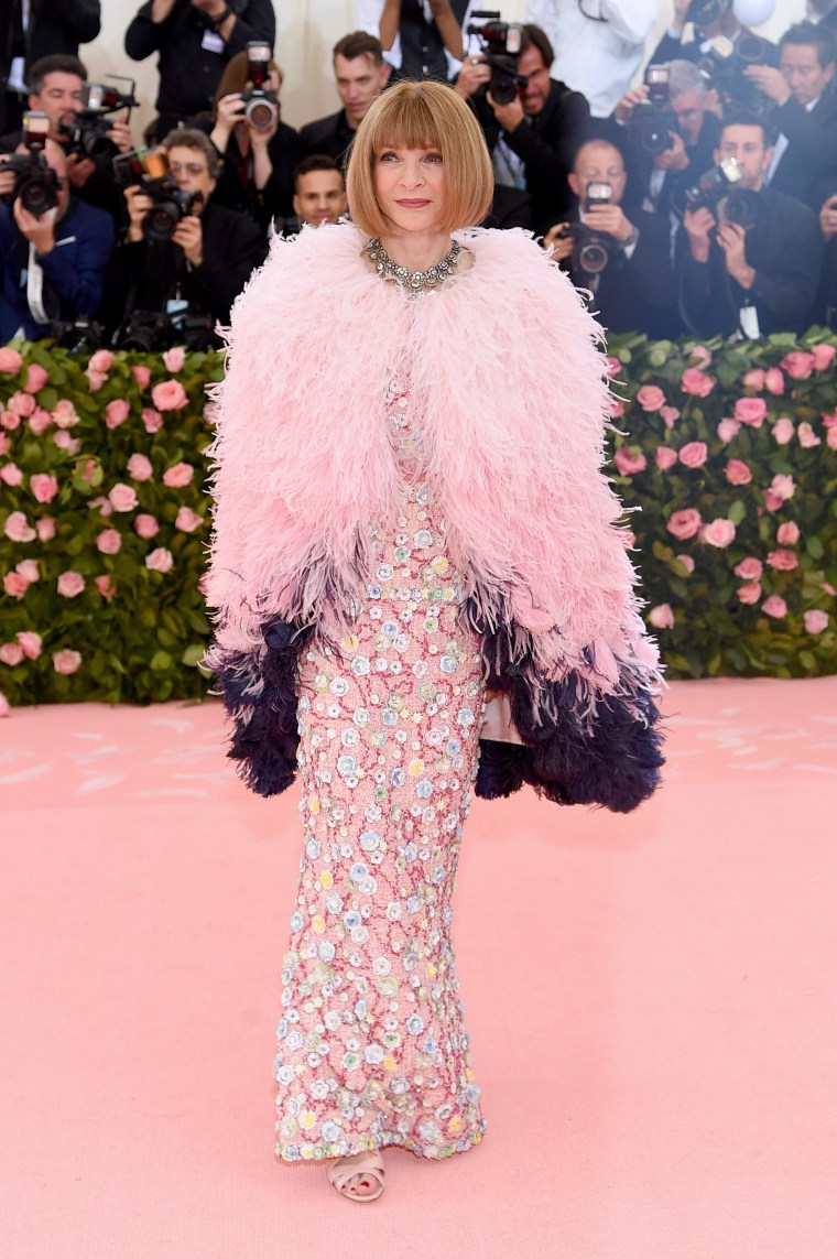 Anna Wintour, 2019 Met Gala, red carpet, Anna Wintour Met Gala