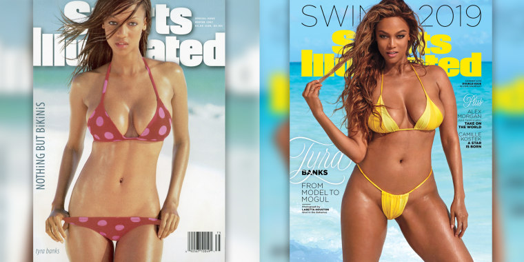 Tyra Banks returns to SI swimsuit cover