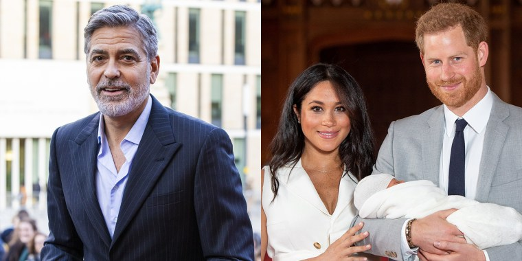 George Clooney / Harry, Meghan and Archie