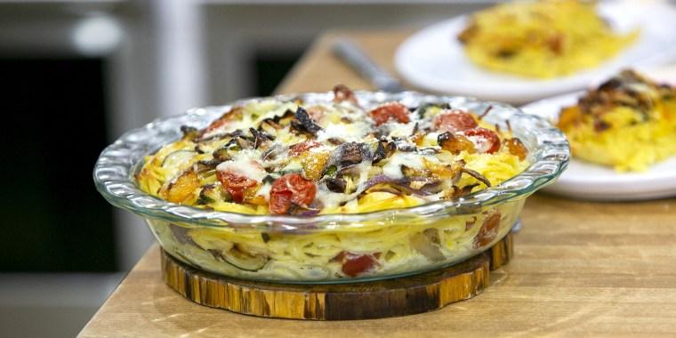 Siri Daly's Siri Daly's Spaghetti Primavera Pie