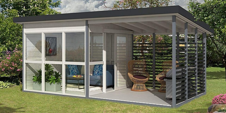 Amazon Is Selling A Garden Guest House You Can Build Yourself In