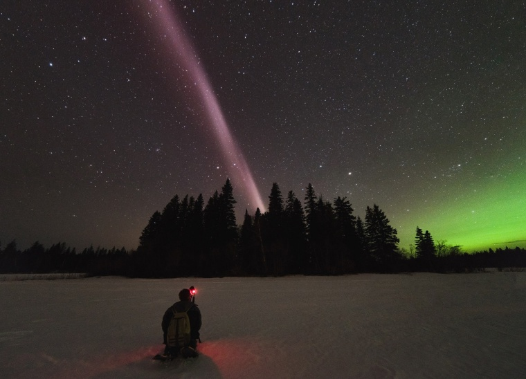 Alberta Aurora Chasers capture STEVE, the new-to-science upper atmospheric phenomenon