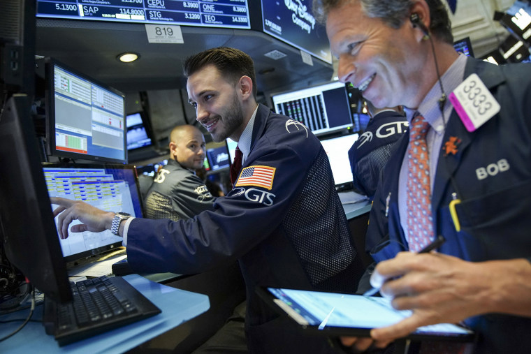 Image: Markets Rally To Record Highs