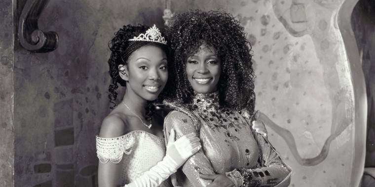Image: Brandy, Whitney Houston, Cinderella - 1997