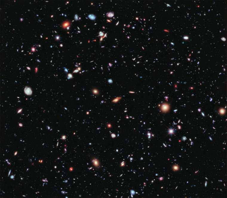 New Hubble Space Telescope photo is a 'living history book' of our universe
