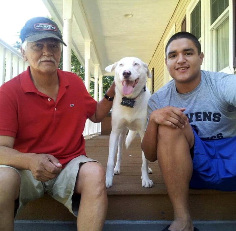 After being diagnosed with cancer in 2001, Jorge Gavilanes was immediately underwent surgery to remove his prostate and began chemotherapy. When his cancer reemerged, his grandson, Nelson, urged him to try medical marijuana to alleviate his pain.