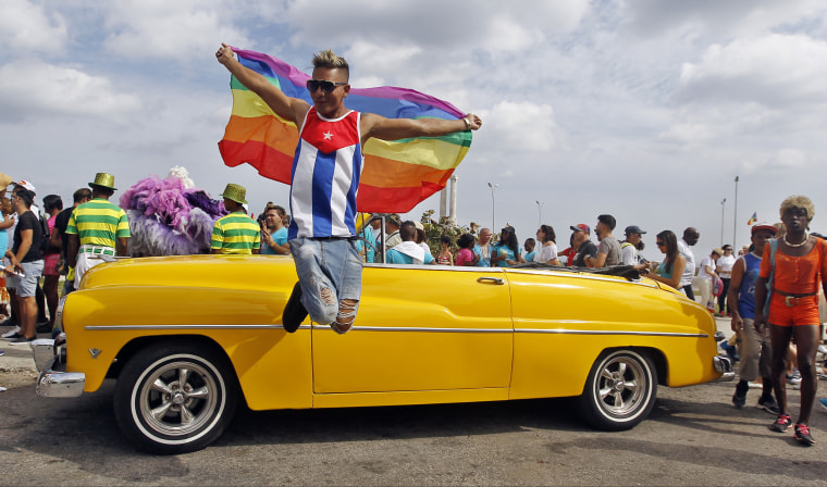 Image: Cubans March Against Homophobia In Havana