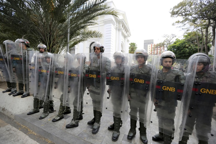 Image: Venezuelan Bolivarian National guard