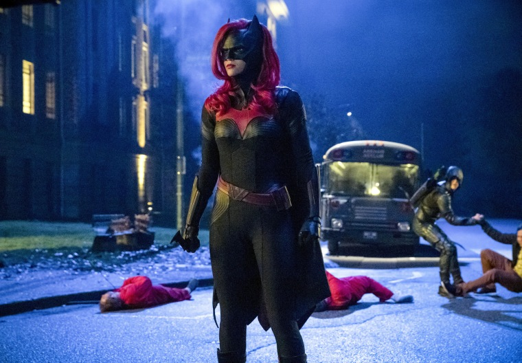 out actor ruby rose makes tv history in the cw\u0027s \u0027batwoman\u0027 Batwoman and Flamebird