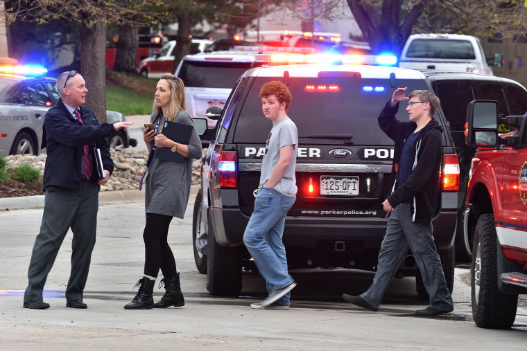 Image: Shooting Reported At School In Highlands Ranch, Colorado