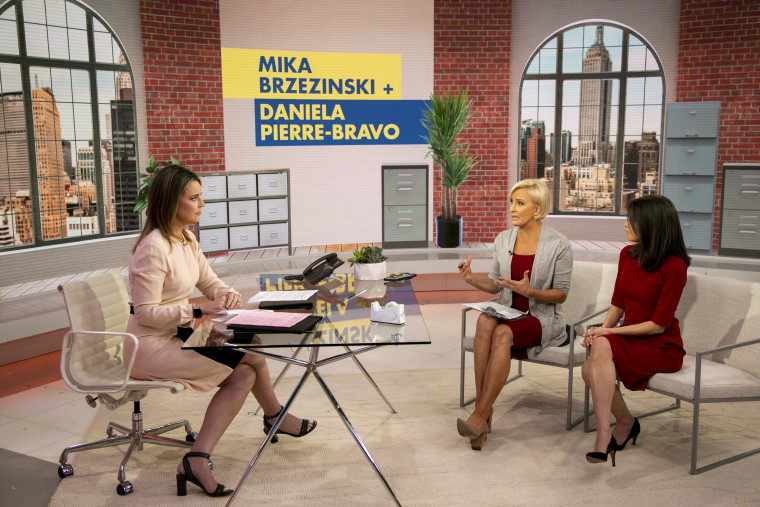 Know Your Value founder Mika Brzezinski and her co-author, Daniela Pierre-Bravo, speak to TODAY's Savannah Guthrie.