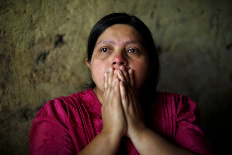Image: Transito Gutierrez cries for her 16-year-old son, Juan de Leon Gutierrez, who died in a Texas hospital after being detained by U.S. border patrol agents on May 3, 2019.