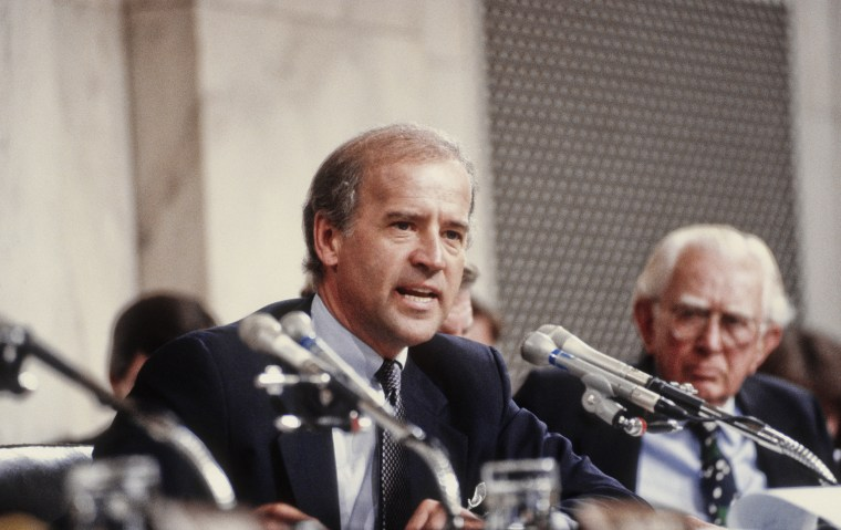 Senator Joe Biden At Clarence Thomas Confimation Hearings