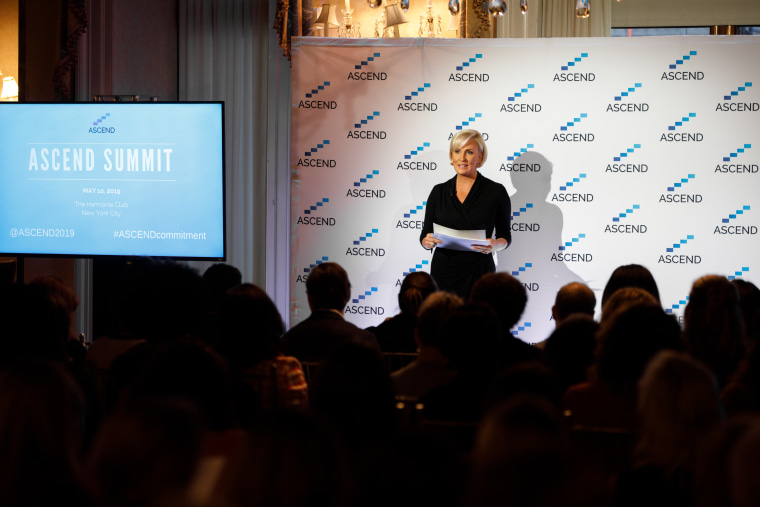 Mika Brzezinski hosts the inaugural ASCEND summit in New York City on Friday.